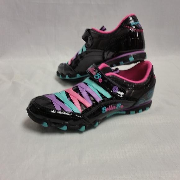 bd786d24d52 EUC Girls Skechers Bella Ballerina Prima Shoes. M 5b23d8fb04e33d1b792346d6